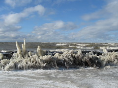 Lake Erie In Winter
