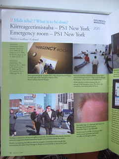 Documenta magazine @ kunst.ee // EMERGENCY ROOM MOMA/PS1 | by Thierry Geoffroy / Colonel