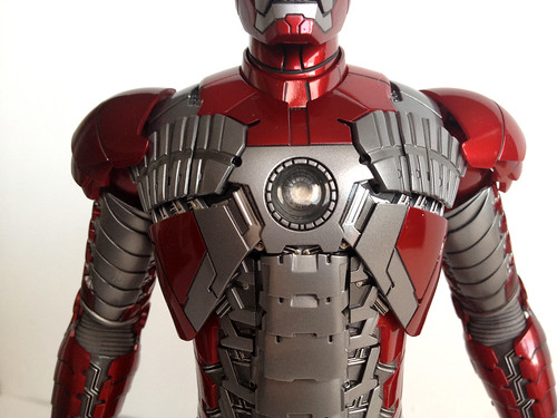Hot Toys Iron Man mark V front details | by marvelousRoland