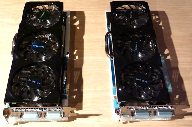 2 x Gigabyte GTX580 3 Gb