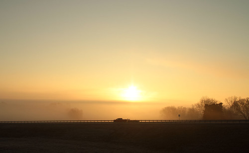 man sunrise canon lens driving ii commute commuter 24mm f14l 60d