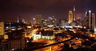 KL at night. | by mike turtle