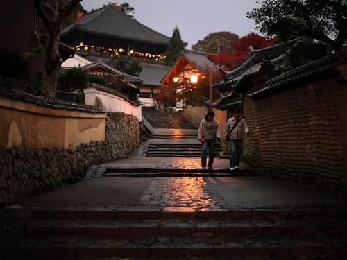 sunset zeiss canon temple 14 carl 5d nara planar markii