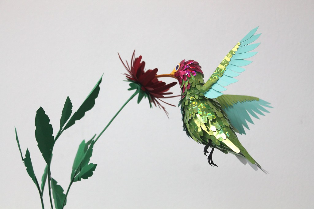 The Colibri and the flower.