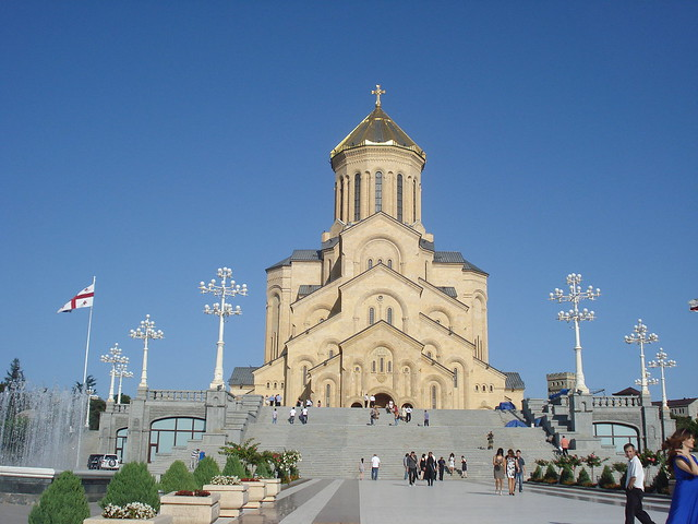 Sameba(Holy Trinity)Cathedral ,Tbilisi