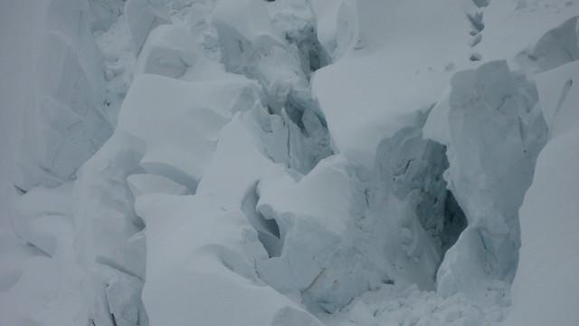 Unders Ischmeer / Eismeer ( Gletscher / Glacier ) im Berner Oberland im Kanton Bern in der Schweiz