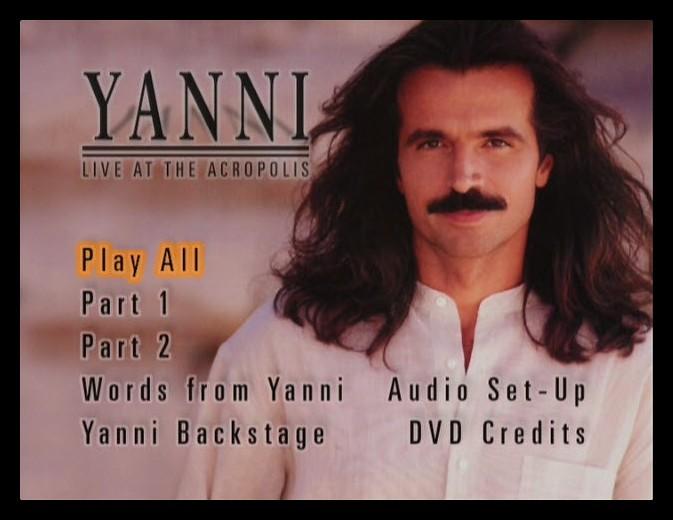 Yanni Live At The Acropolis (1994) Yanni, Shardad Rohani