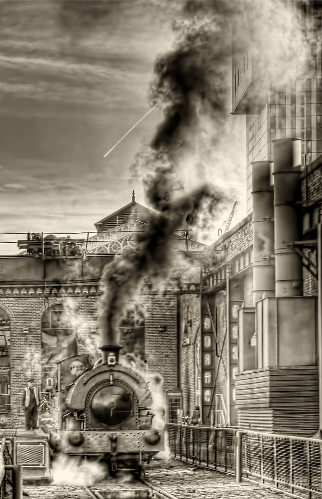 Steam Train | Old steam engine used for rides at Museum of S