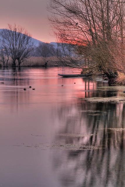 A fairytale lake... (Un lago da fiaba...)