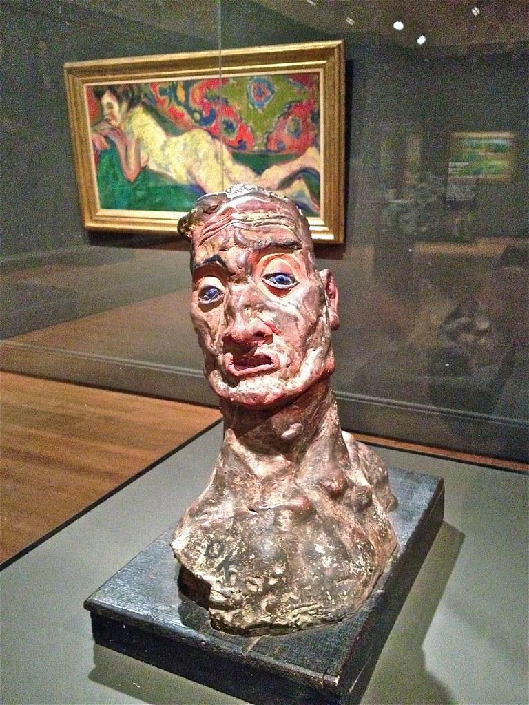 Self-portrait as a Warrior—Kokoschka
