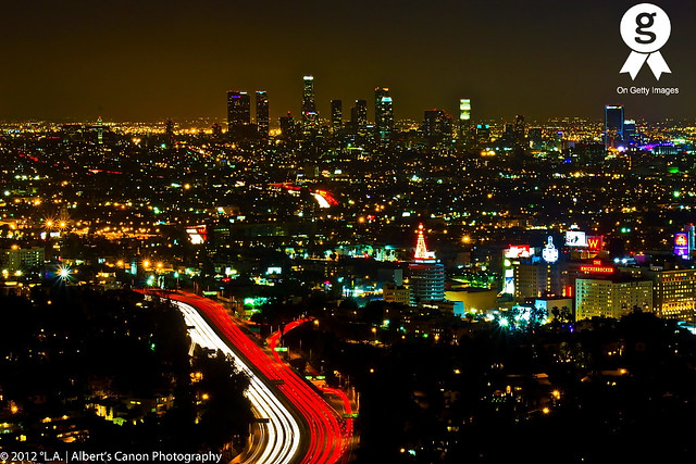 Magestic Night in Los Angeles! (Explored 01.16.12)