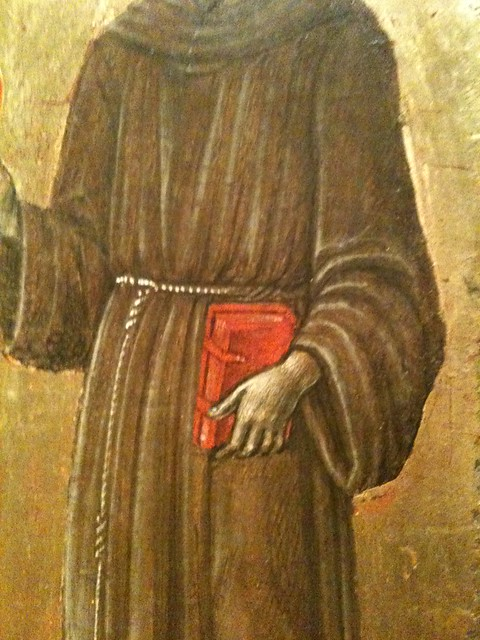 """Detail from """"The Four Saints"""""""