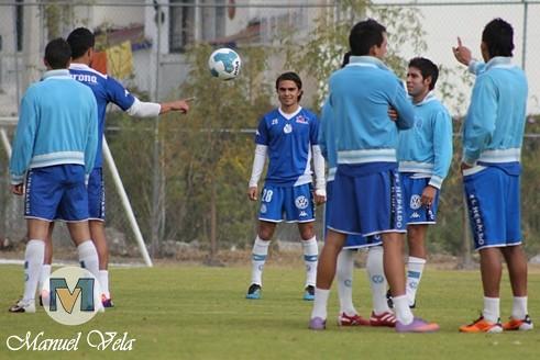 IMG_0002 Puebla FC entreno en el Deportivo La Noria previo al encuentro de la J4 del TC2012 vs Jaguares de Chiapas por Mv Fotografía Profesional / www.pueblaexpres.com