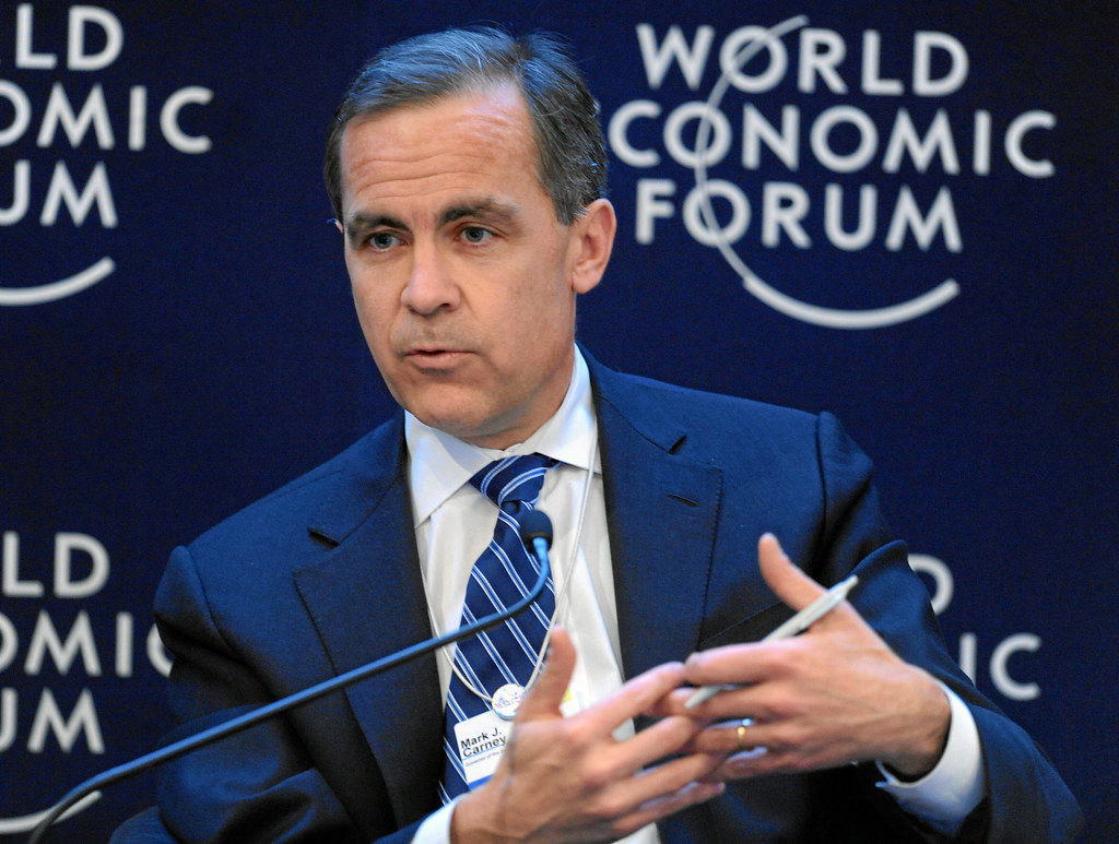 Image result for Mark Carney, davos
