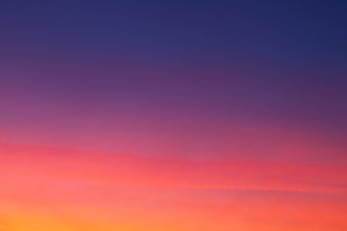 sunset speed landscape colours vibrant hurry otley