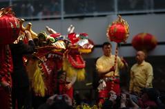 Jozias van Aartsen opent ogen van draak, Chinees nieuwjaar in Den Haag