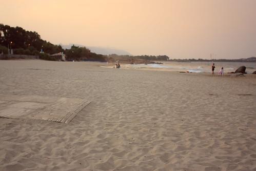 life sunset sea people love beach september
