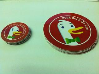 Free DuckDuckGo.com stickers