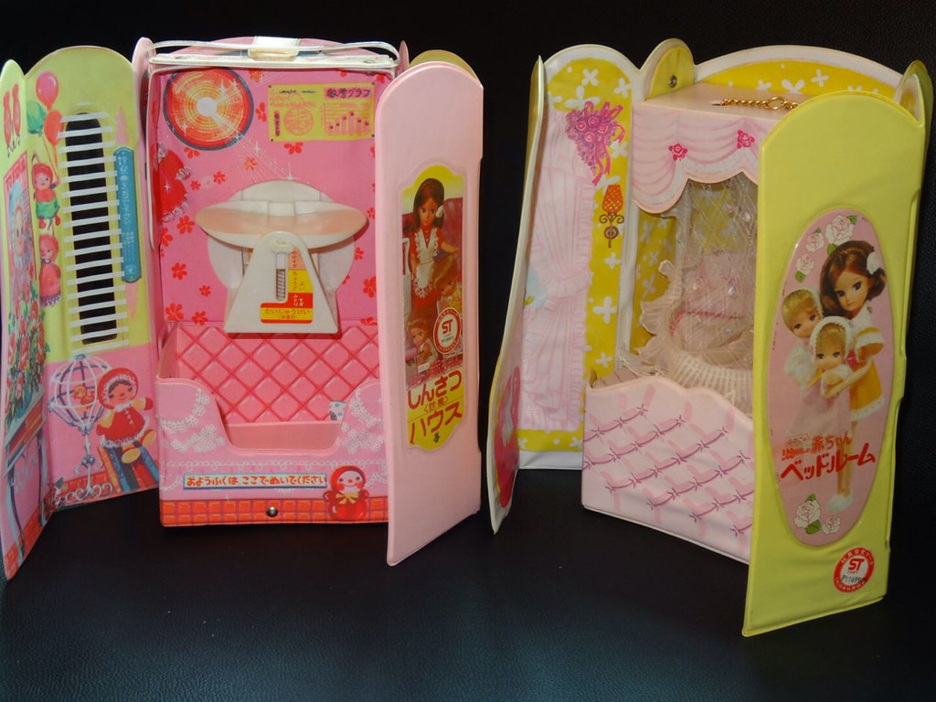 Licca Chan Furniture Playset Licca Doll House Made By Tak Flickr