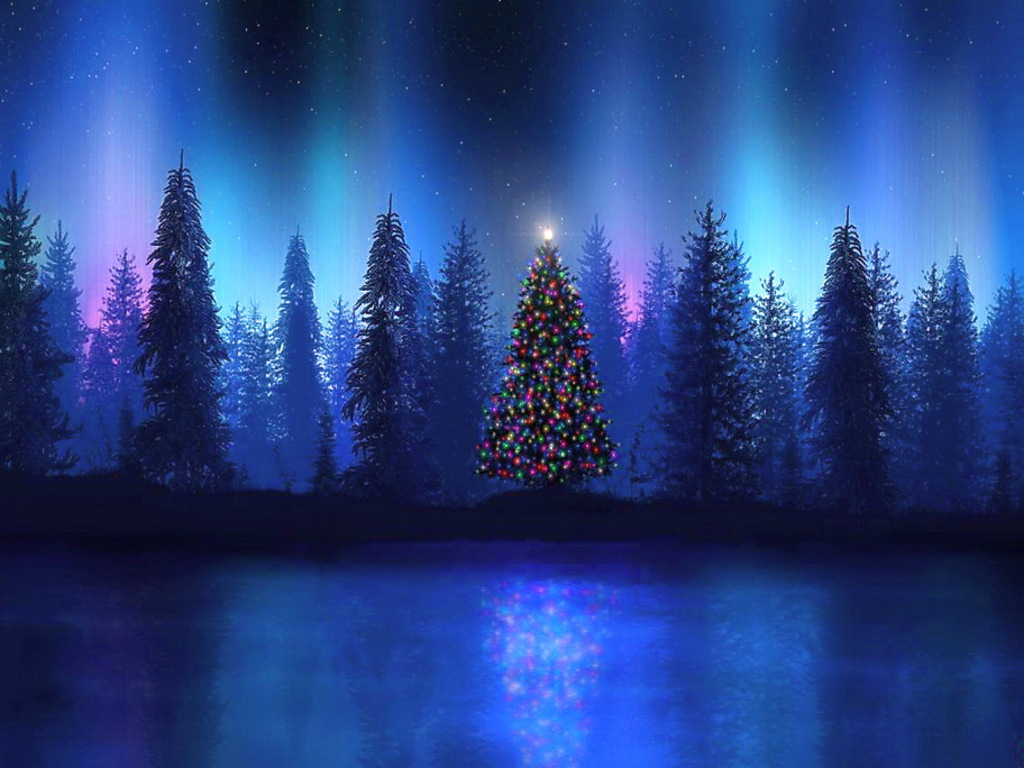Christmas Night Free Desktop Christmas Wallpaper | Download … | Flickr