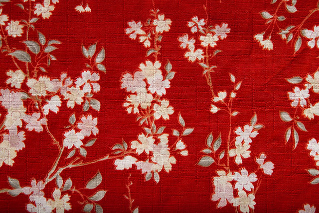 Japanese Souvenir Fabric