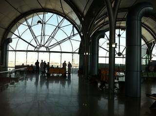 Farewell bidders at Khartoum Int'l Airport