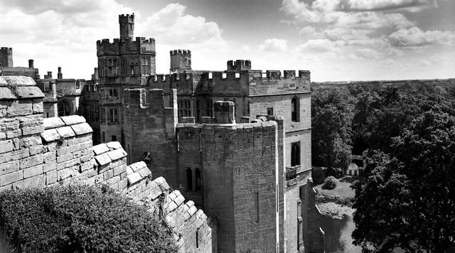 Warwick Castle in the Summer