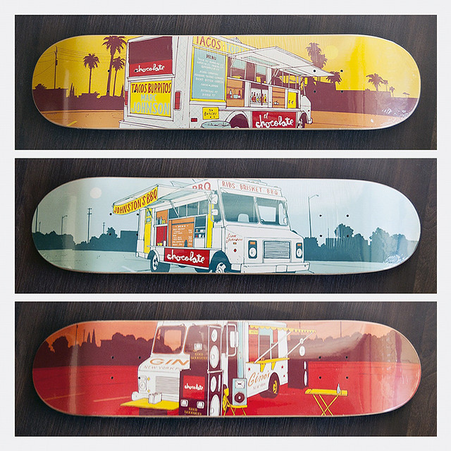 Chocolate Skateboards - Evan Hecox Lunch Truck Series