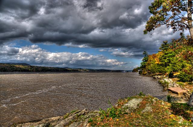 Muddy Hudson River