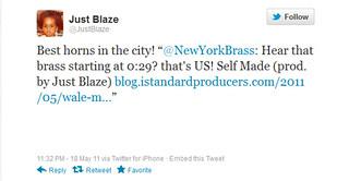 Rick Ross, Self Made | Best horns in the city! @NewYorkBrass | by NewYorkBrass