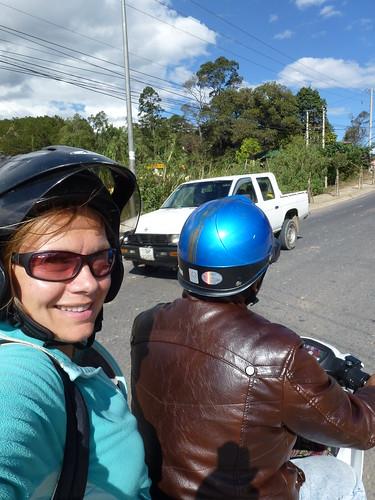 Dalat - easy riders - Lesley en Will