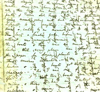 1833 Letter to Henslow