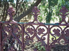 Cast Iron Fence.