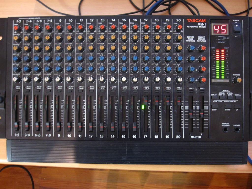 MM-1 | Tascam MM-1 Keyboard Mixer | khz-tone | Flickr