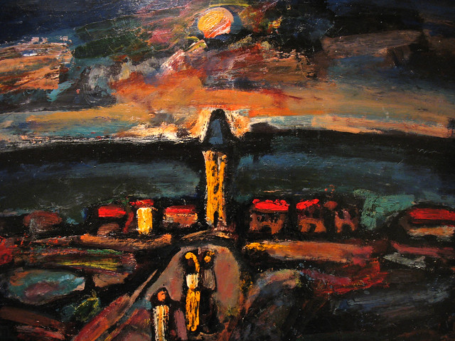 Sunset by Rouault
