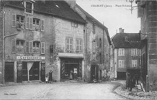 Les docks francs-comtois à Orgelet