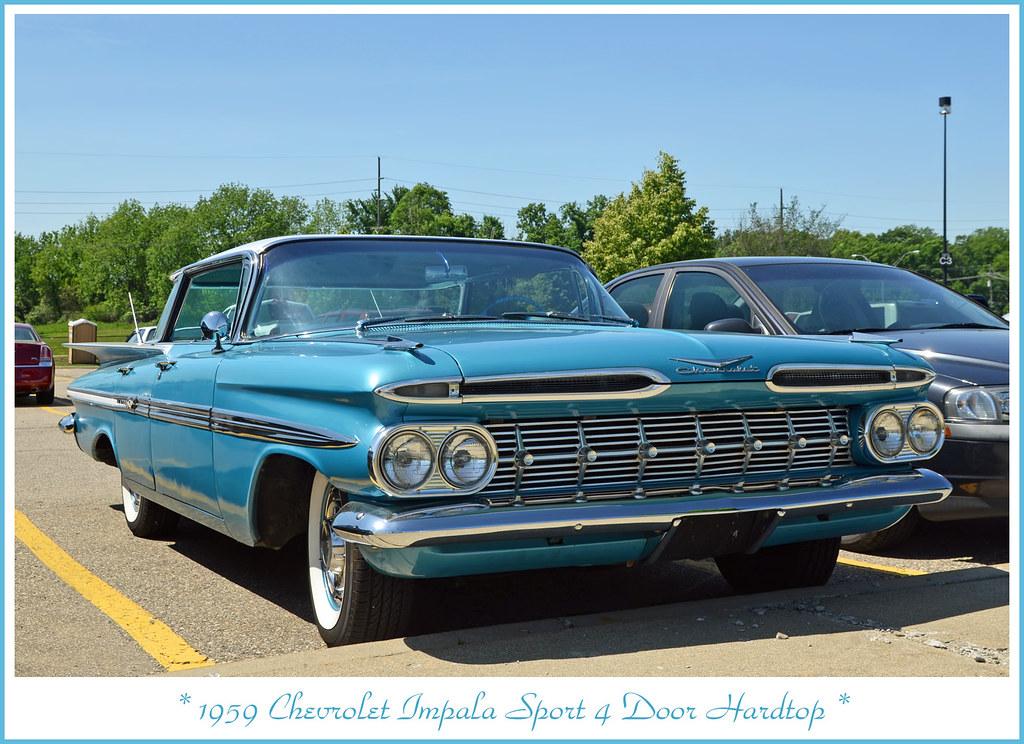 1959 Chevrolet Impala Sport 4 Door Hardtop