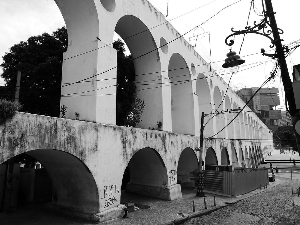 Carioca Aqueduct, Rio de Janeiro