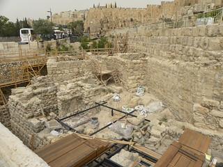 Excavations south of the temple mount | by Ian W Scott