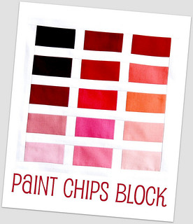 DHWQ Week 13 - Paint Chips Lynne Goldsworthy | by Quiltjane