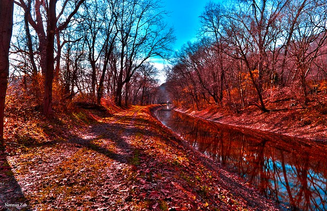 The Canal Trail (Easton, PA)