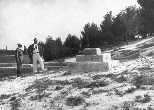 Cornerstones of Mt. Scopus Campus, 1918