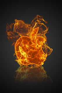 Fire Apple Logo | by GDS-Productions