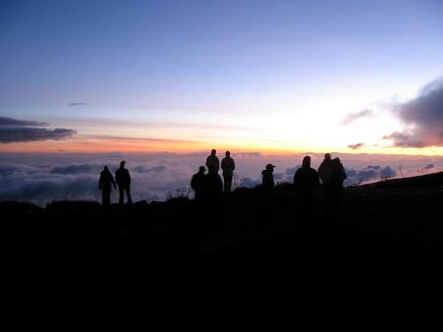 africa sunset kilimanjaro tanzania