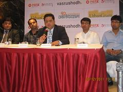 Nitin Kulkarni, Nitin Dangat, Sachin Kulkarni, Nilesh & Yogesh Pate, Directors, Pate Developers,  first franchisee of  affordable housing township 'UrbanGram'!