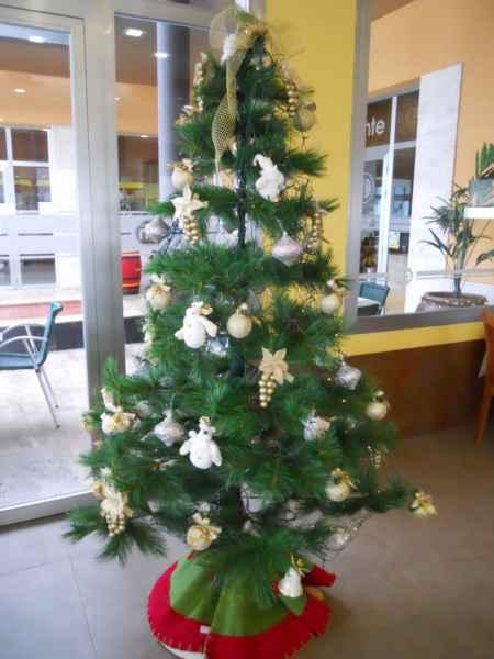 Arbolito Navidad decorado