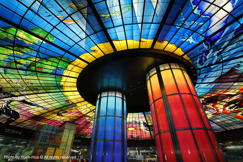 The Dome of Light, Formosa Boulevard Station │ Kaohsiung by *Yueh-Hua 2021