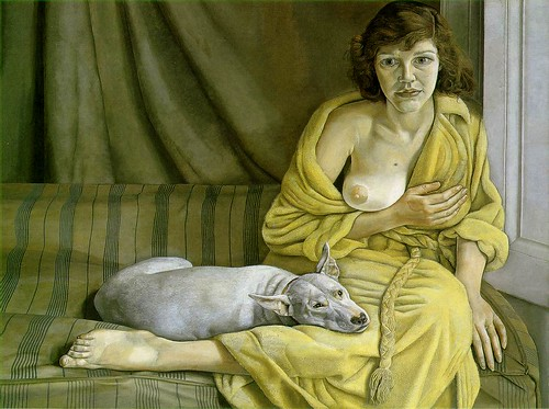 Lucian Freud: Girl With a White Dog