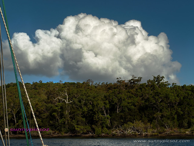 Frazer Island - Cumulonimbus