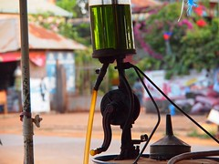 Local gaz station in Ban Lung (Cambodia 2011)